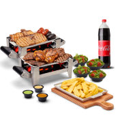 Parrillada familiar + bebida familiar (1.350 lt.)