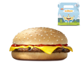 Menu Kid Cheeseburger
