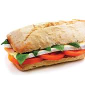 Sanduiche Sugestão - Brie e Manjericão (VEGETARIANA)