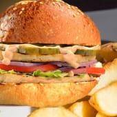 Meniu halloumi burger