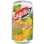 Sagiko мікс тропічних фруктів  ж/б (0,32л)