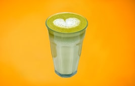 Matcha mango latte(L)
