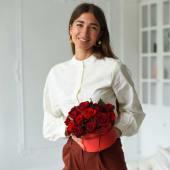 Троянди в коробці Lady in red
