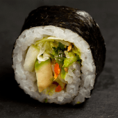 Uramaki veg (4 piezas)