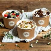 Yogurt biologico al cucchiaio grande