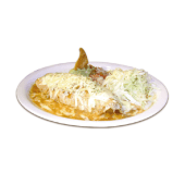 Burrito gratinadao de pollo