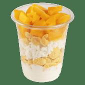 საუზმე გრანოლათი და ატმით / Breakfast with granolla and peach