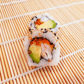 Spicy gambas crunch roll (8 uds.)