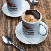 Café negro pequeño 8 oz