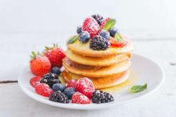 Pancakes Ai Frutti Rossi