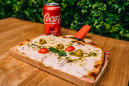 1/4 mozzarella + Coca-Cola Sabor Original (33 cl.)