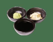 Соевый соус, имбирь, васаби (70 г)