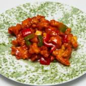 #45 Tira de pollo caramelizado con salsa agridulce