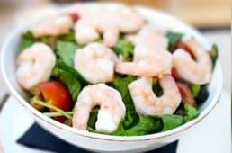 Shrimps & garlic