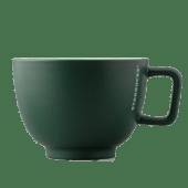 Cană ceramică verde închis 16 oz
