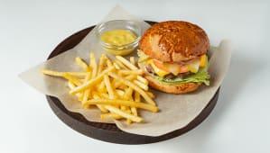 Бургер з телятиною (300/100г)