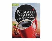 Nescafé Clássico (10 Saquetas)
