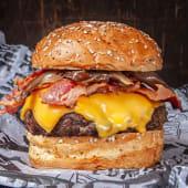 Promo 1 - Doble Cheese Burger + Panceta con Papas