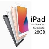 Apple iPad 8va generación 2020 10.2 WiFi 128GB A12 touch ID