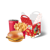 საბავშვო მენიუ ჩიზბურგერით/Kids Cheeseburger