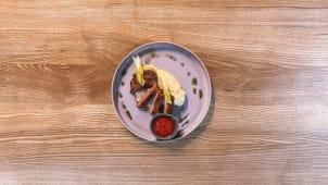 Стейк з індички з картопляним пюре (250г)