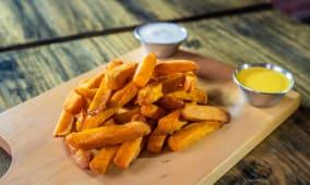 Camote frito (porción)