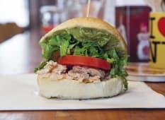 Salmon Tartare Burger