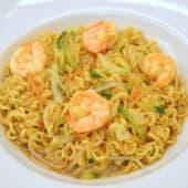 05301. Spaghetti Giapponesi con Verdure & Gamberi