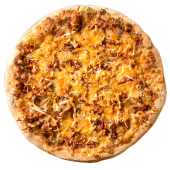 Pizza pulled pork (mediana)