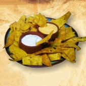 Nachos bolsa (350 g.) + 2 salsitas