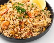 Fried Rice Shrimps