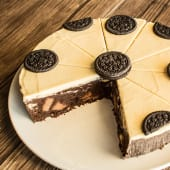 Triple fudge brownie (entero)