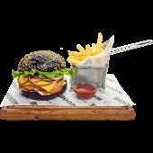 Black бургер-меню с котлетой на выбор