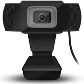 Camara Web Cam Hd 720p, Con Micrófono Incorporado, Rotator