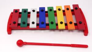 Xilofono Una Octava Teclas A Color Ima