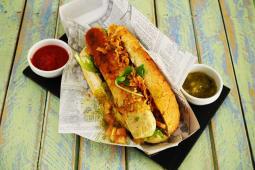 Hot dog vegetariano (80 g.)