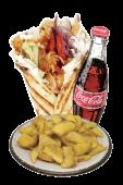 Menù Pita Vegetariana