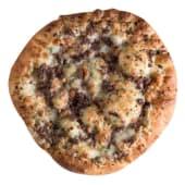Pan de ajo con queso y carne