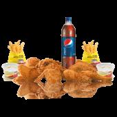 Combo familiar 8 Piezas de Pollo + 4 Complementos