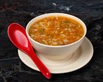 Hot and sour vegetable soup