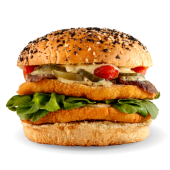 Sándwich patagónico + papas fritas