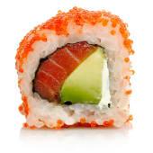 Tobiko salmón (8 piezas)