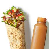 Zestaw Wrap Wege Falafel z sokiem
