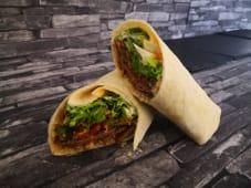 Latino BBQ beef, crunchy bacon i quinoa