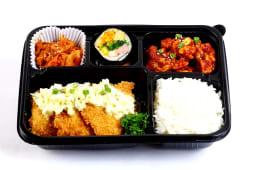 Saengseon katsu (pescado apanado) dosirak