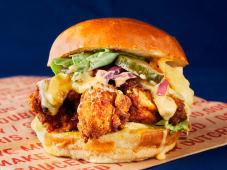 C.C.B. (Chikin Cheese Burger)