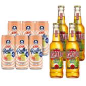 6X Ciuc Radler Citrice si Menta FARA ALCOOL 330ml + 4X Desperados