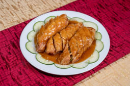 Pollo Enrollado con Espárragos