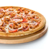 Pizza barbacoa parrilla (familiar)