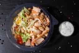 Salata cu shaorma
